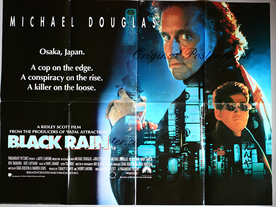 an analysis of the movie black rain Even given all of its inconsistencies, implausibilities and recycled cliches, black rain might have been entertaining if the filmmakers had found the right note for the material.