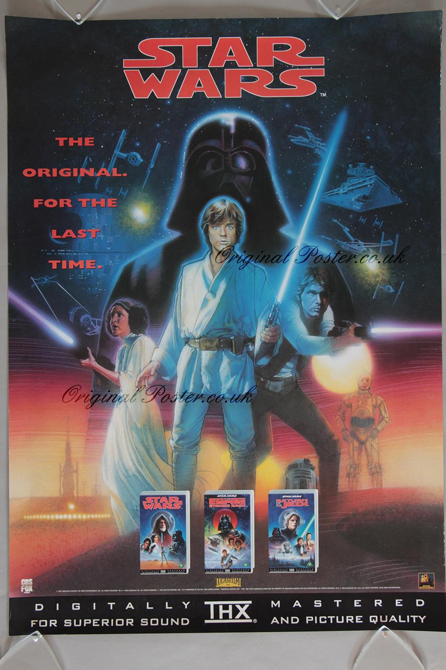 Star Wars, Original Vintage Film Poster | Original Poster ...