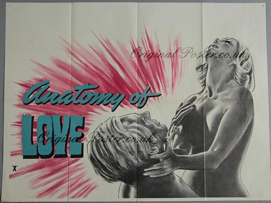 Anatomy of Love, Original Vintage Film Poster | Original Poster ...