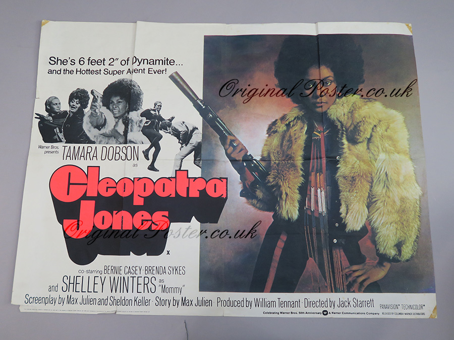 Cleopatra Jones Original Vintage Film Poster Original Poster Vintage Film And Movie Posters