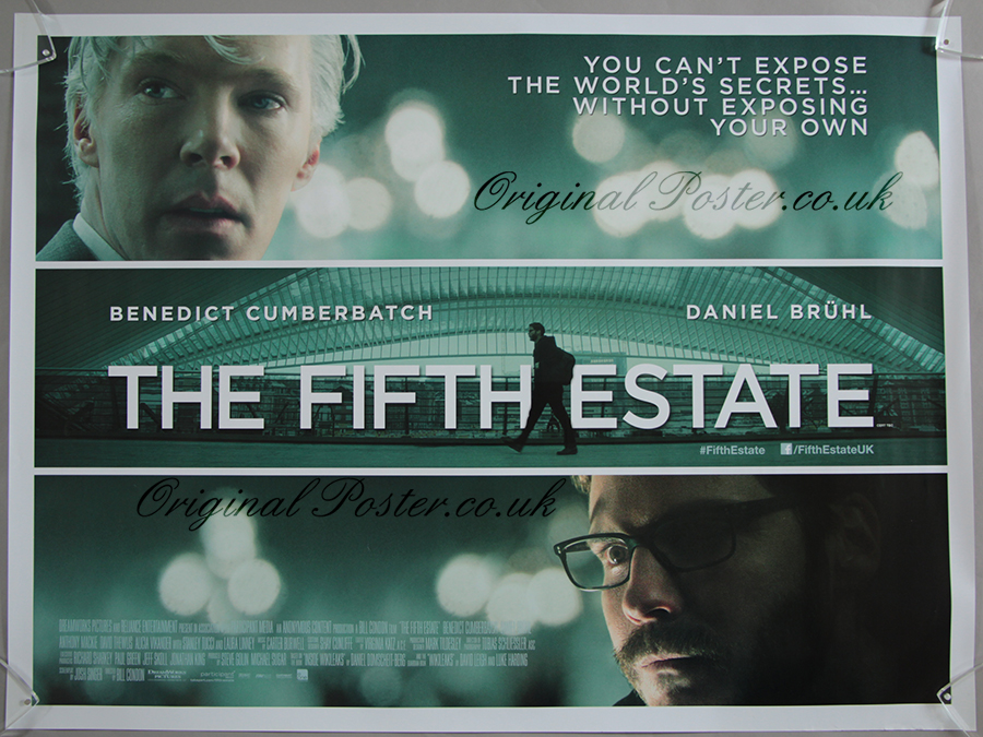 The Fifth Estate, Original Vintage Film Poster | Original ...