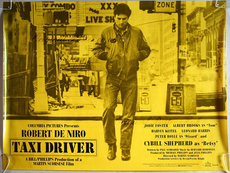 Taxi Driver, Modern Film Posters | Original Poster ...