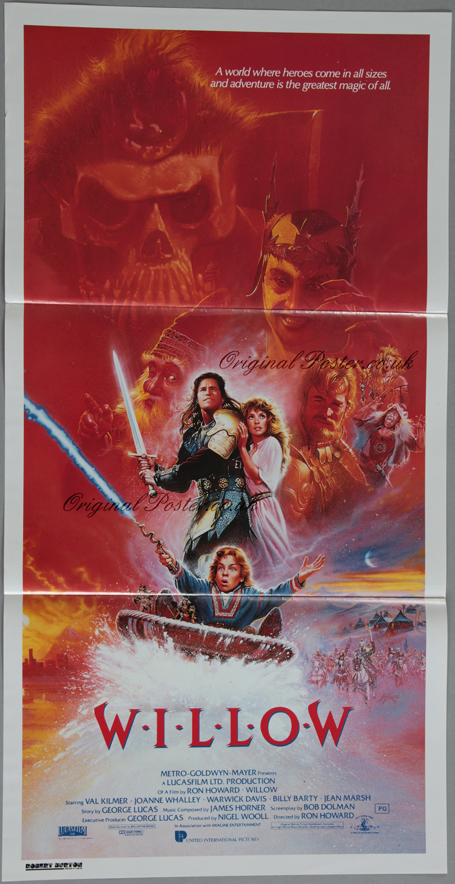Willow , Original Vintage Film Poster | Original Poster ...