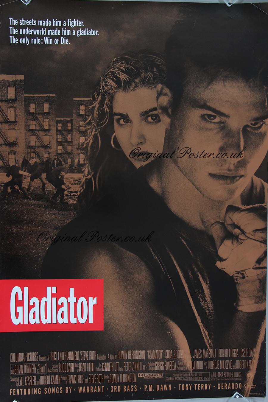 Gladiator, Original Vintage Film Poster | Original Poster ...
