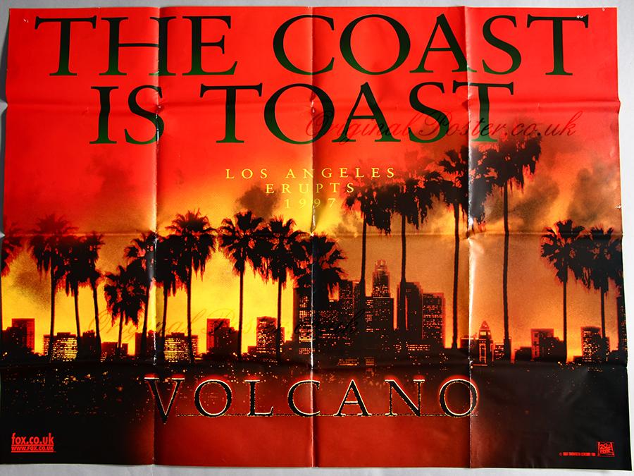 Movie Posters 1997: Volcano, Original Vintage Film Poster