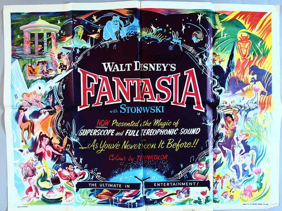 Fantasia, Original Vintage Film Poster| Original Poster - vintage ...