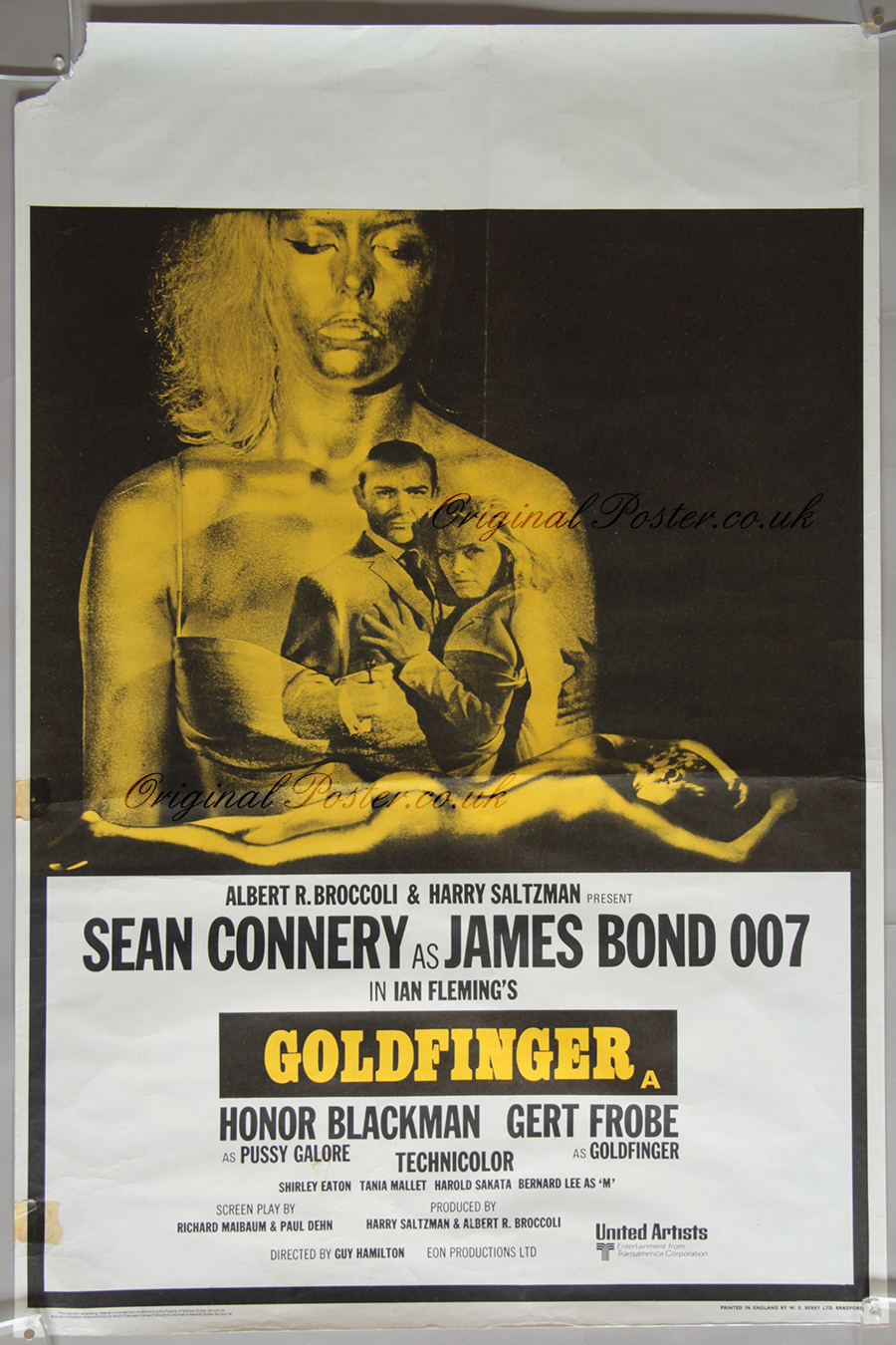 Vintage british movie posters