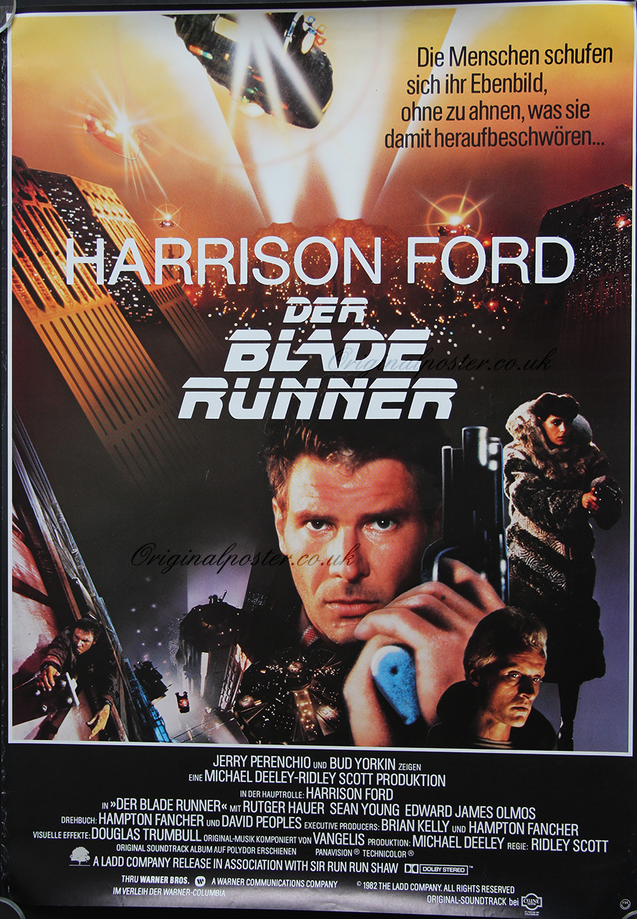 Blade Runner, Original Vintage Film Poster| Original ... - photo#8