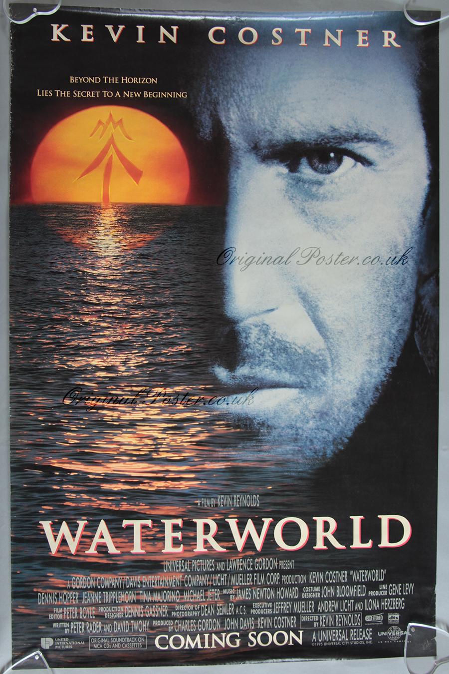 Waterworld, Original Vintage Film Poster | Original Poster ...