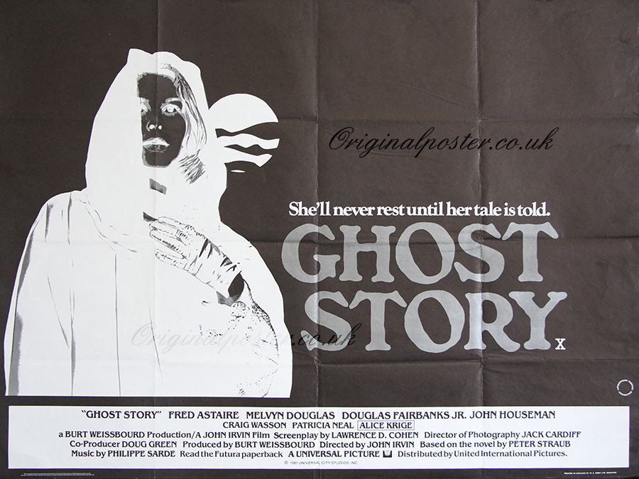Ghost Story, Original Vintage Film Poster | Original ...