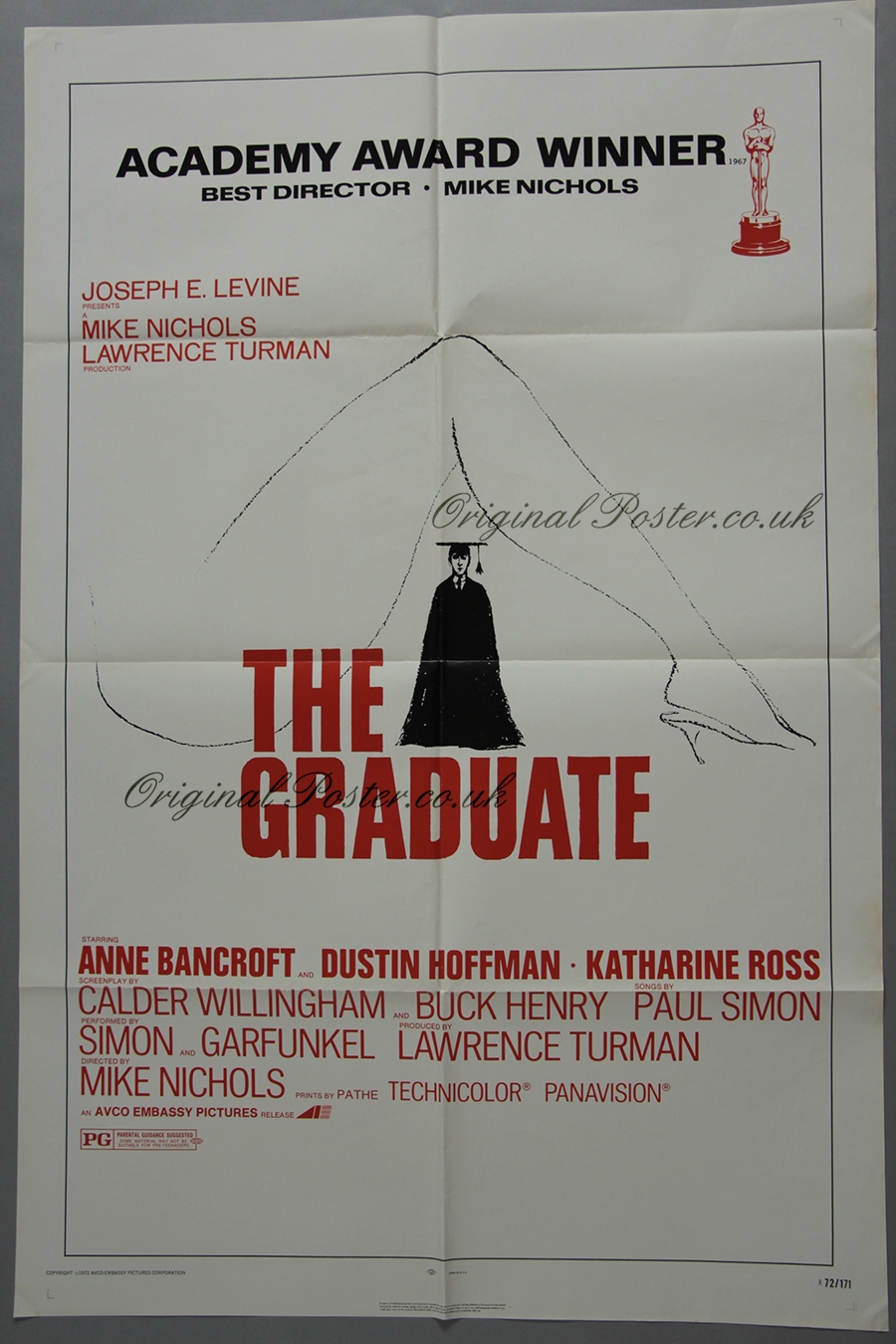 The Graduate, Original Vintage Film Poster | Original ...