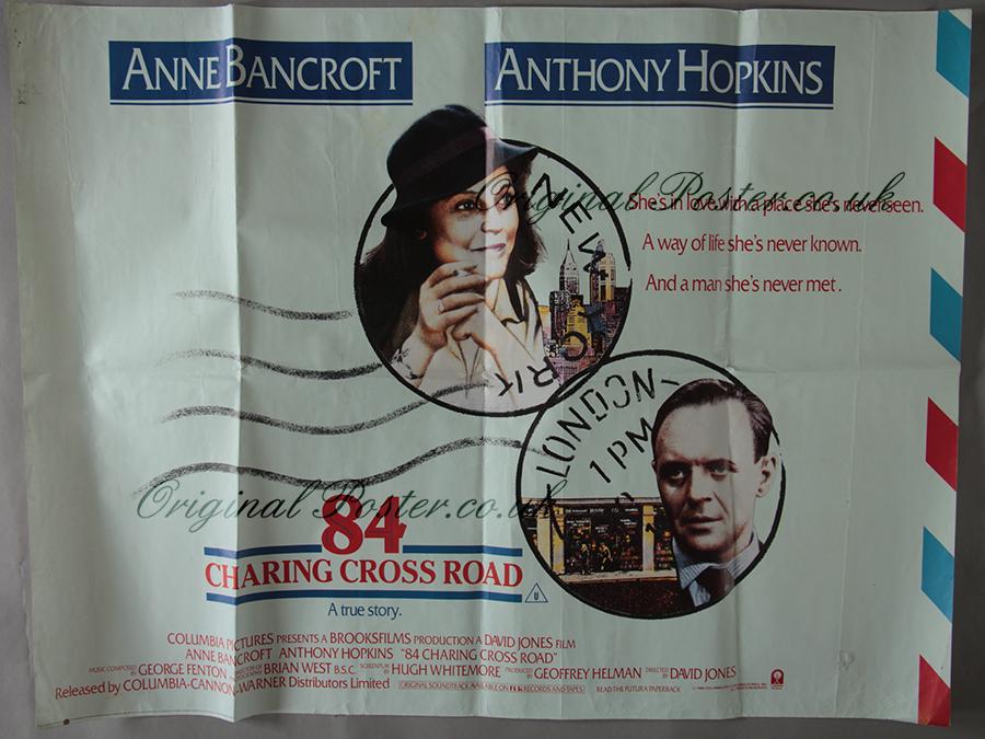 best loved cabcd 22553 84 Charing Cross Road - Original Vintage Film Poster
