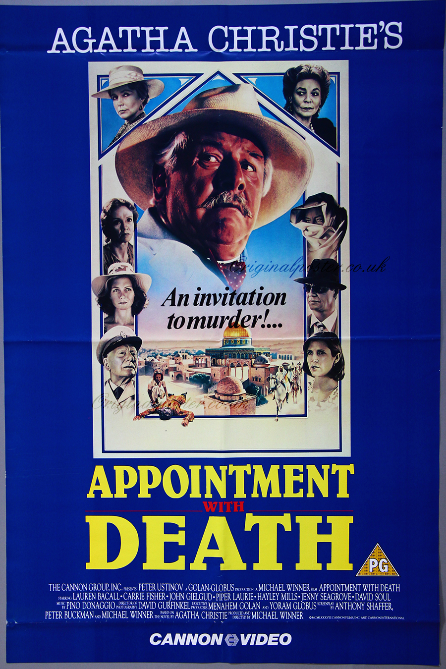 Appointment with Death, Original Vintage Film Poster ...