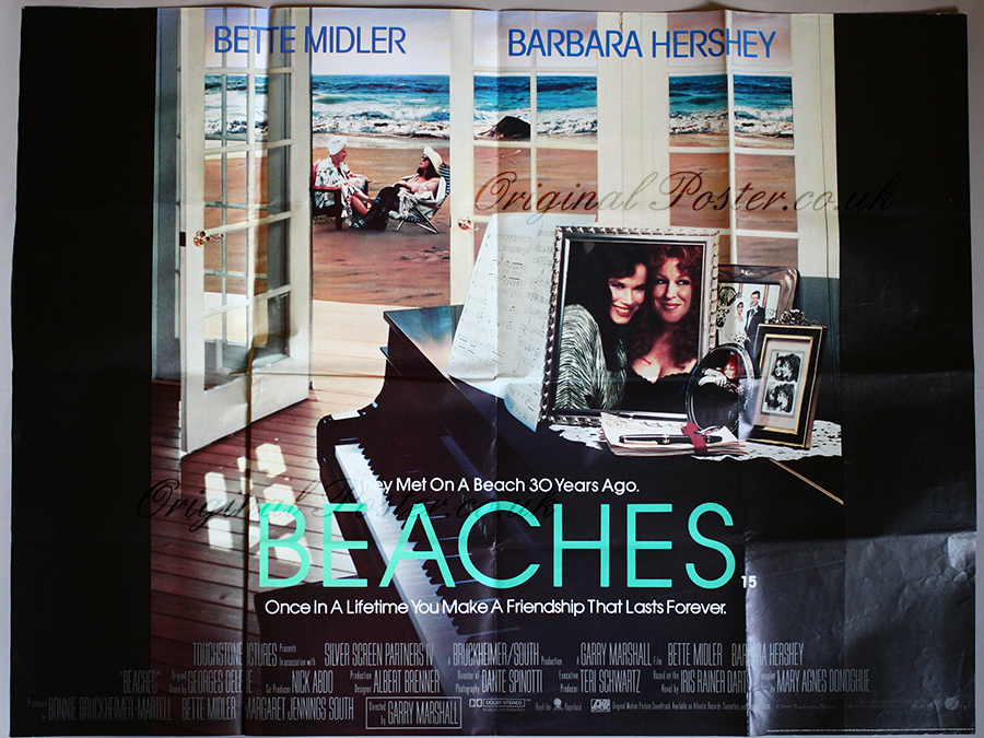 Image result for beaches movie poster