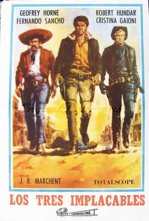 Tres Hombres Buenos Los Implacables Original