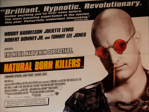 Natural Born Killers, Original Vintage Film Poster ...