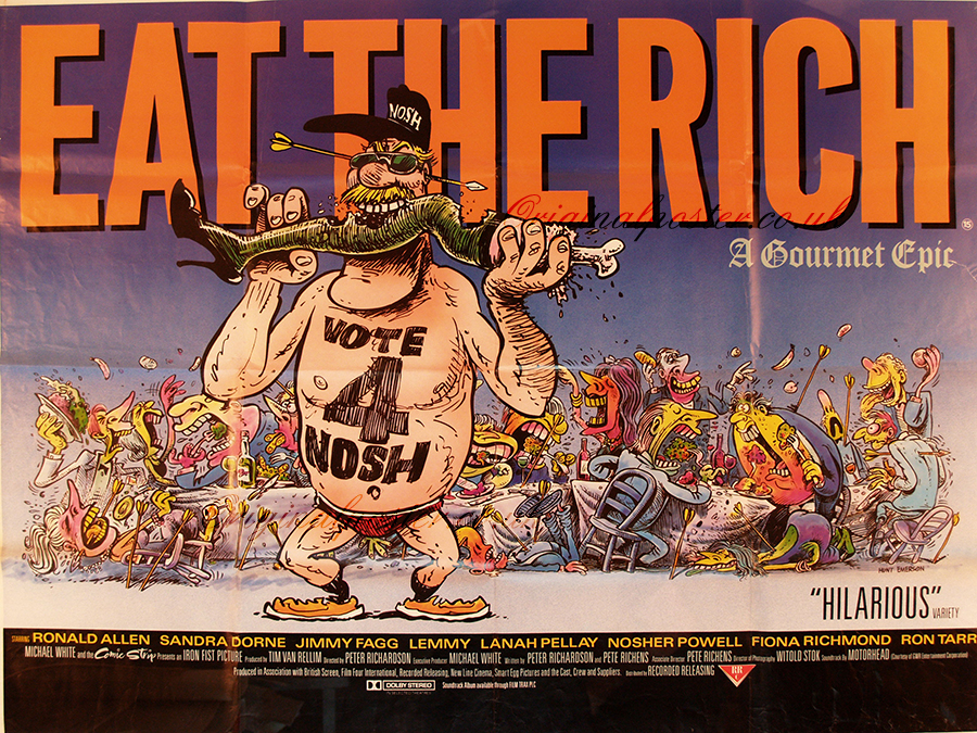 eat the rich film