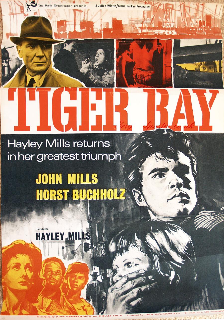 Tiger Bay, Original Vintage Film Poster | Original Poster ...