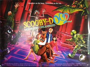 scoobydoo 2 original vintage film poster original