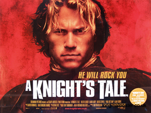 A3, A4 A Knight/'s Tale Movie Poster