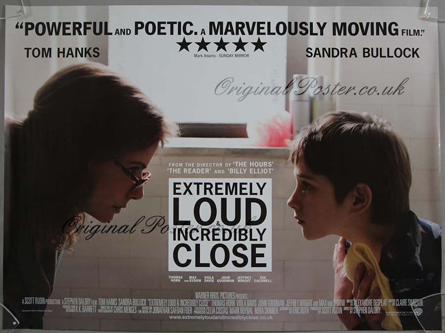 Extremely Loud & Incredibly Close, Original Vintage Film ...