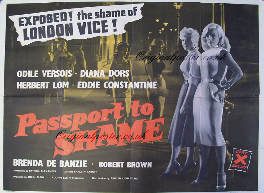 Passport to Shame, Original Vintage Film Poster | Original ...
