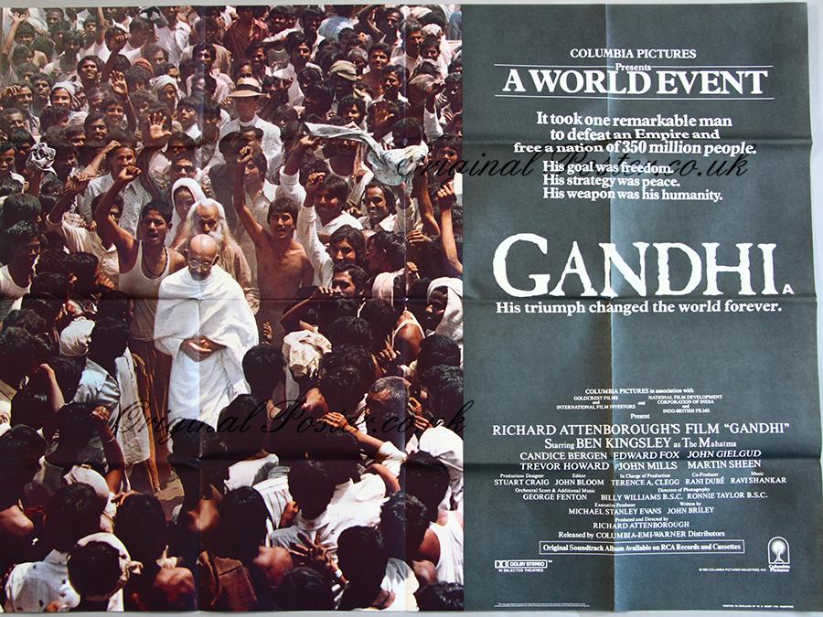 Image result for gandhi film poster
