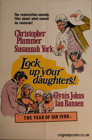 Lock up your Daughters, Original Vintage Film Poster