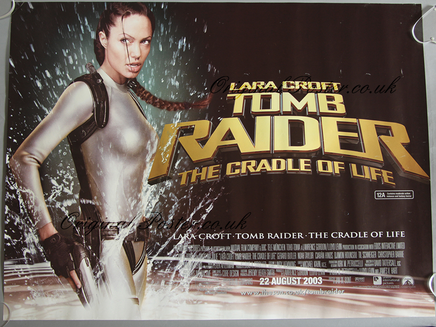 Lara Croft Tomb Raider The Cradle Of Life Modern Film Posters