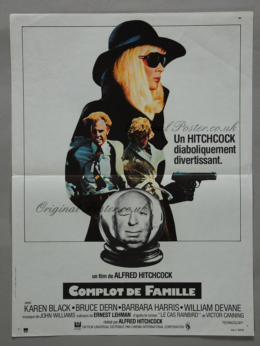 Family Plot, Original Vintage Film Poster | Original ...