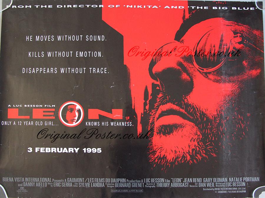 Leon, Original Vintage Film Poster | Original Poster ...
