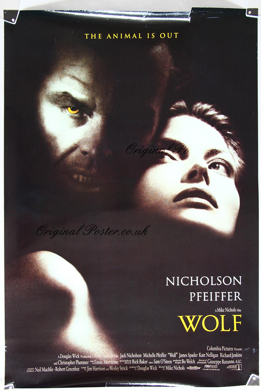 Wolf, Original Vintage Film Poster | Original Poster ...