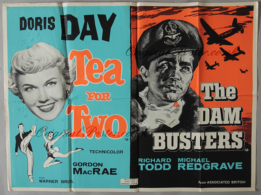 Dambusters film poster / Thunderbirds movie full movie