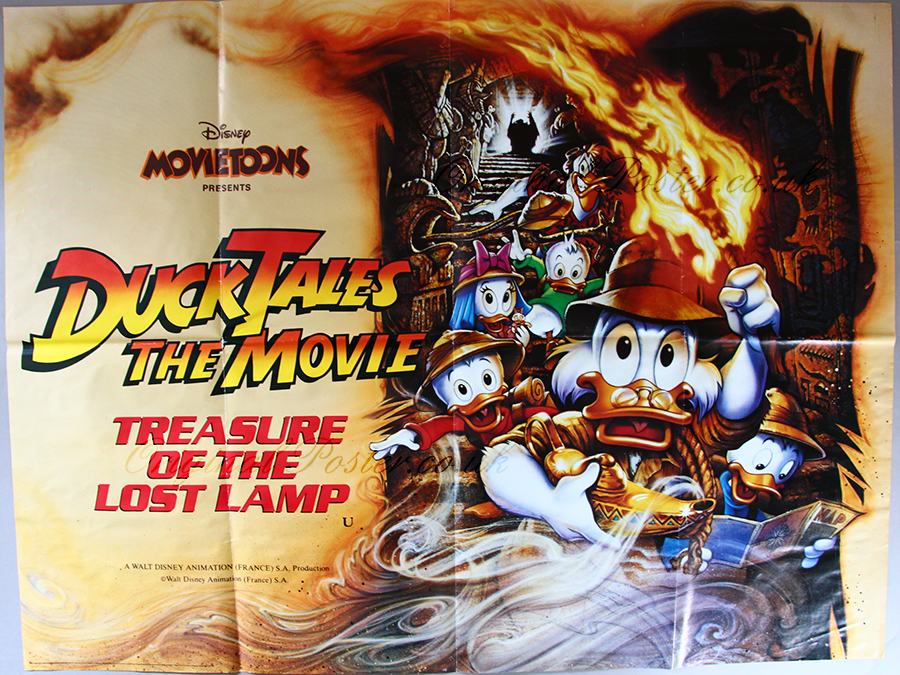 ducktales the movie treasure of the lost lamp original