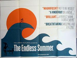 Endless Summer Original Vintage Film Poster