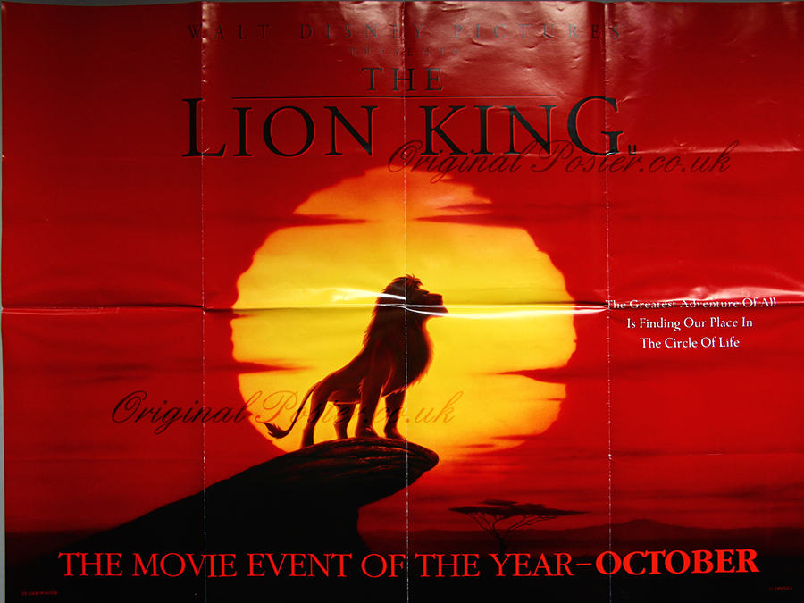 Lion King Original Movie Poster | www.pixshark.com ...