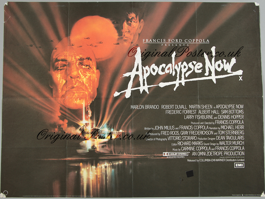 apocalypse now original vintage film