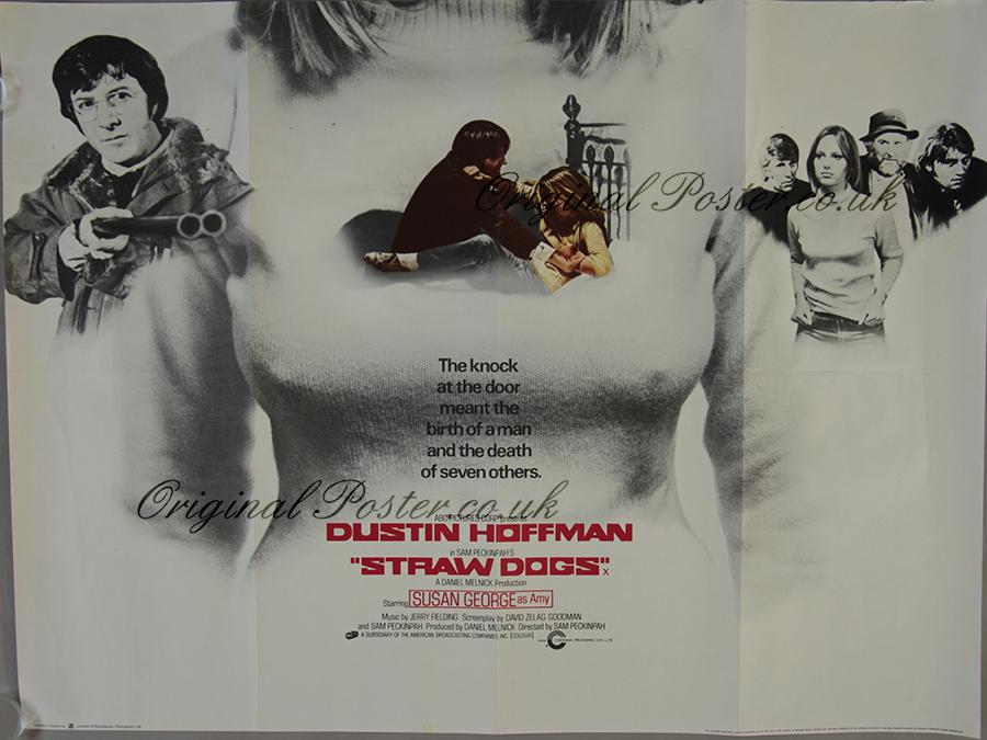 Straw Dogs, Original Vintage Film Poster | Original Poster ...