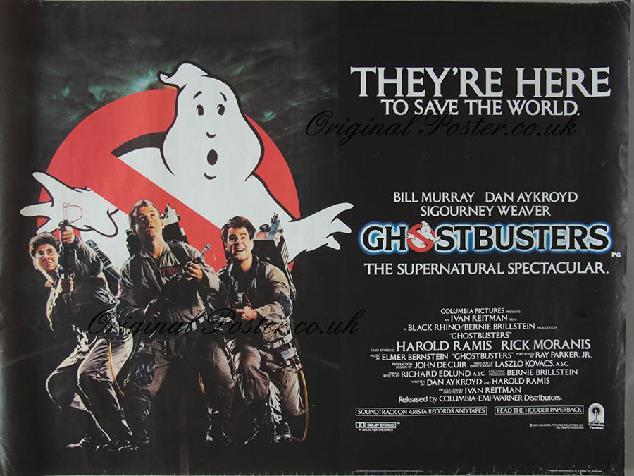 Ghostbusters, Original Vintage Film Poster | Original ...