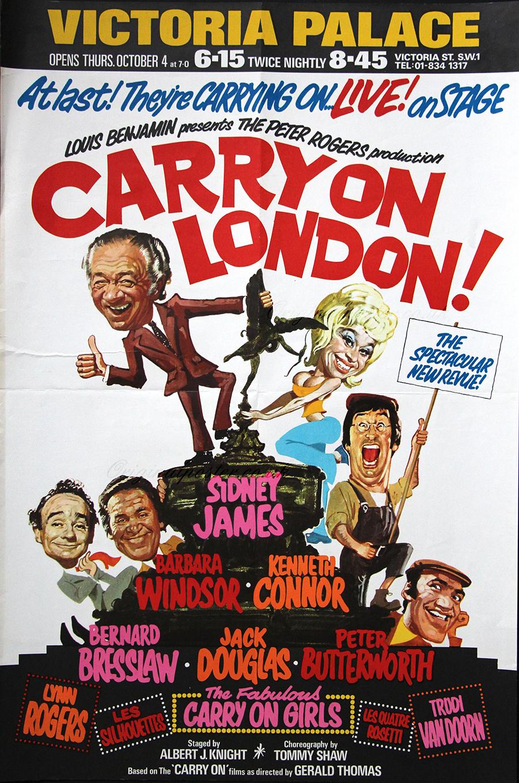 Carry On London Original Vintage Film Poster