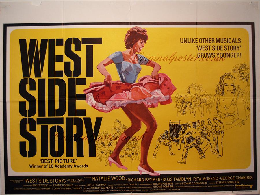 Antique movie posters