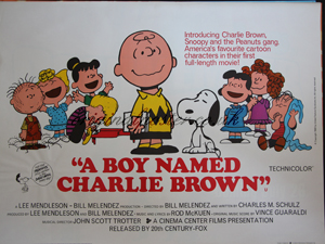 a boy named charlie brown original vintage film poster original