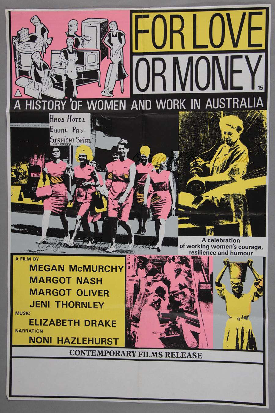 For Love Or Money Original Vintage Film Poster Original Poster Vintage Film And Movie Posters
