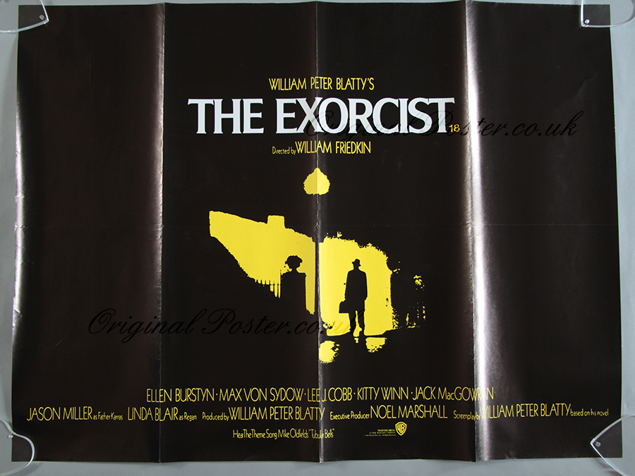 The Exorcist, Original Vintage Film Poster | Original ...