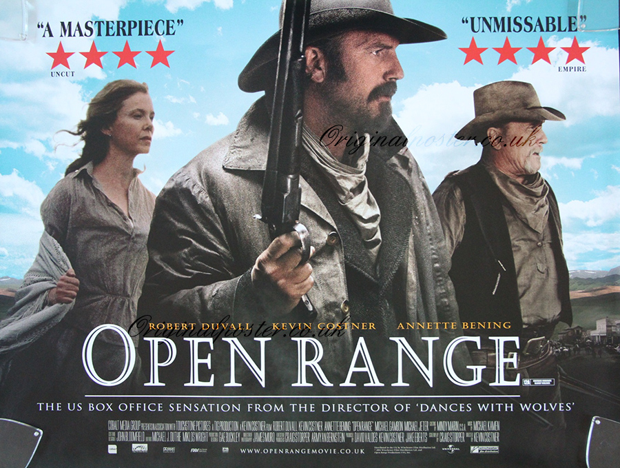 Movie Posters 2003: Open Range, Original Vintage Film Poster
