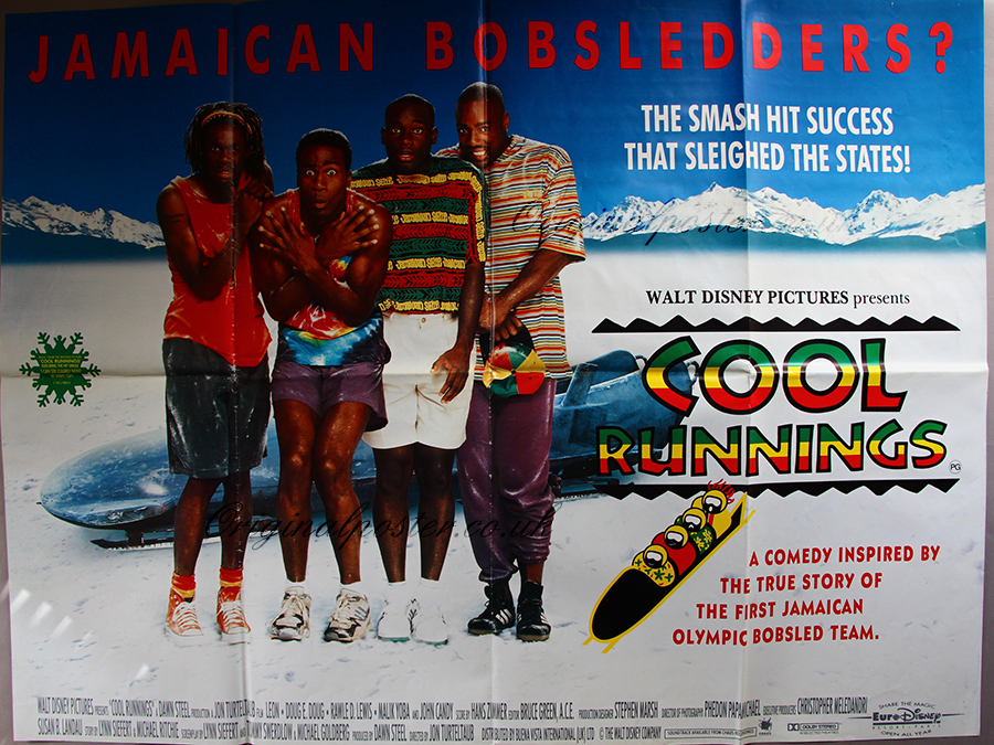 Cool Runnings, Original Vintage Film Poster| Original Poster ...