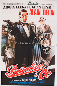 Borsalino and Co - Original Vintage Film Poster 4566d950510