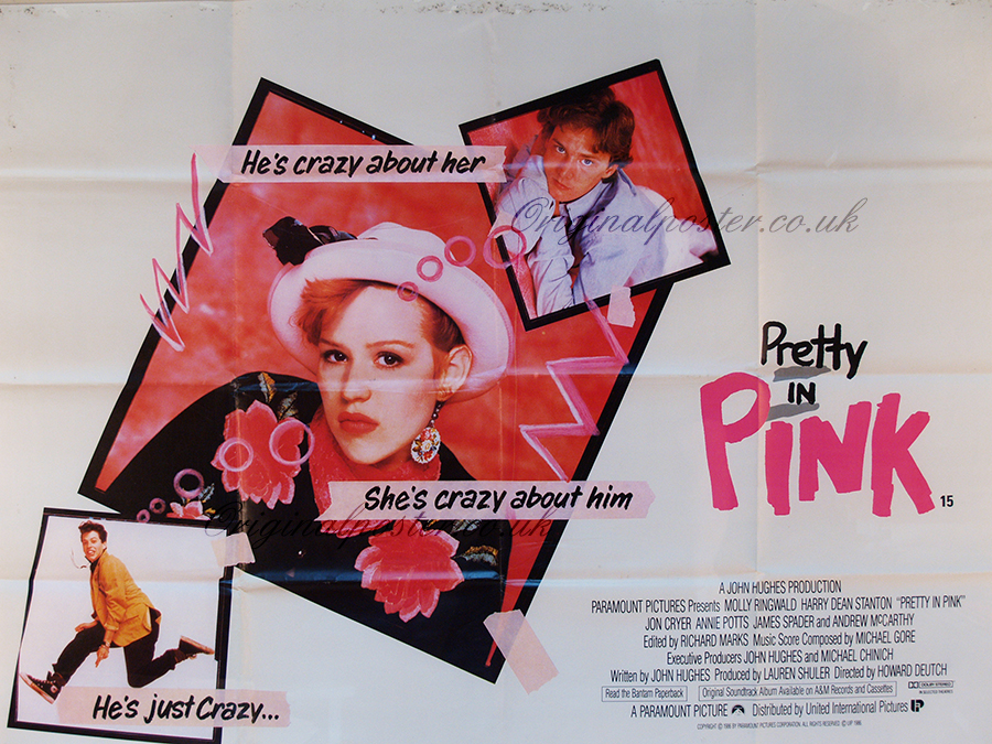 Pretty in Pink, Original Vintage Film Poster | Original ...