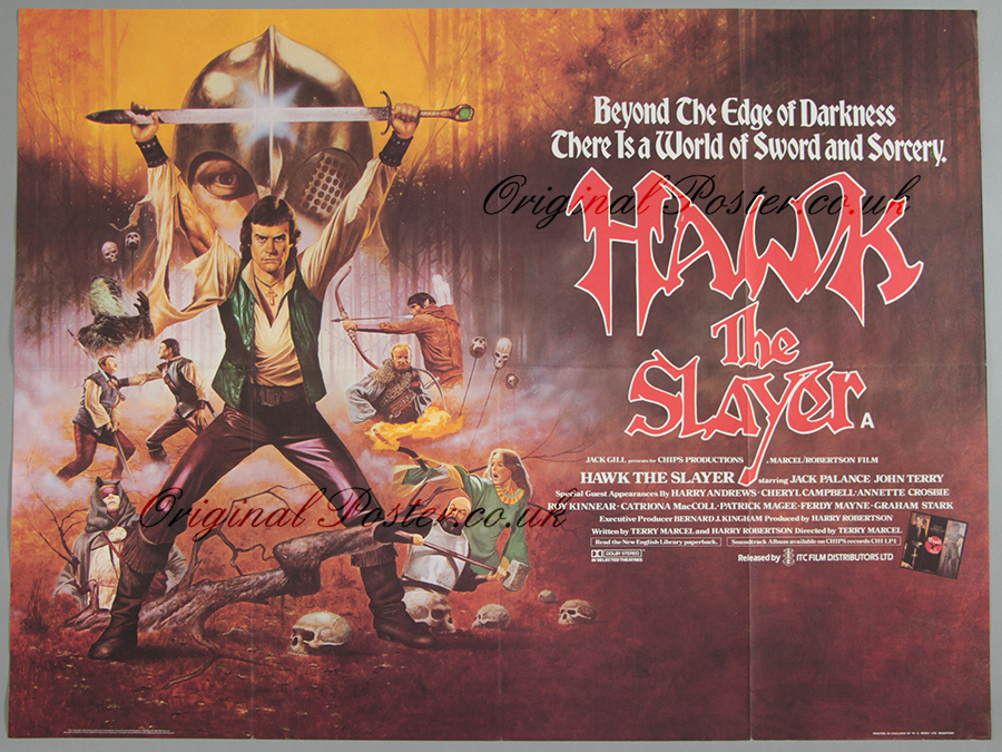 Hawk the Slayer, Original Vintage Film Poster | Original ...