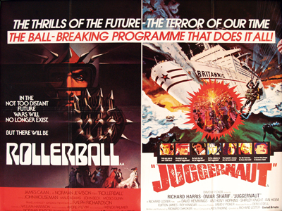 Rollerball / Juggernaut, Original Vintage Film Poster | Original ...